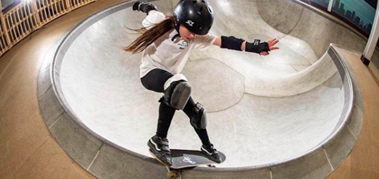 skateboarding 10-year-old