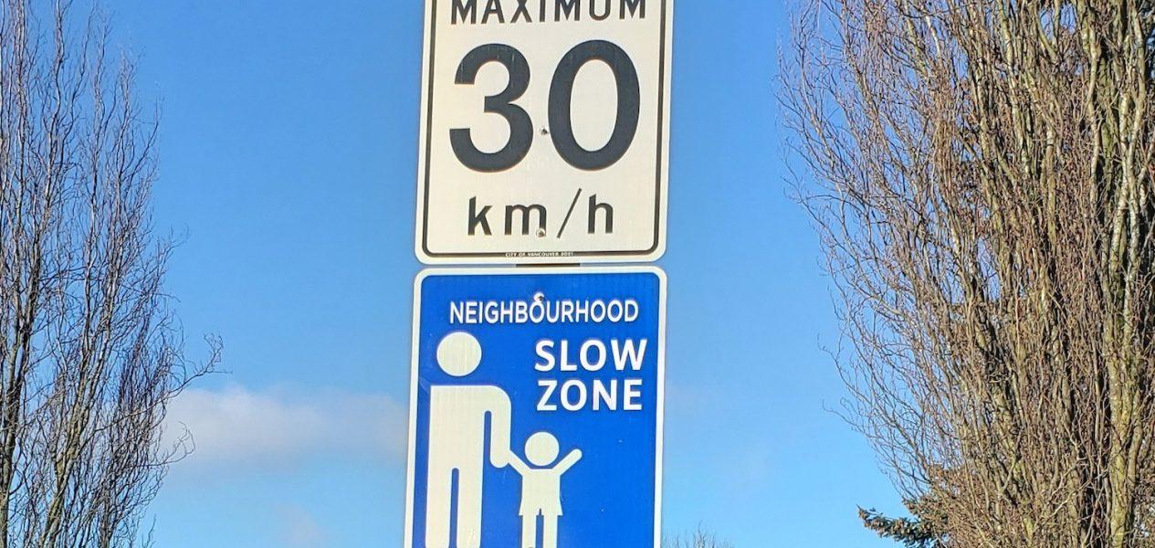 vancouver slow zones