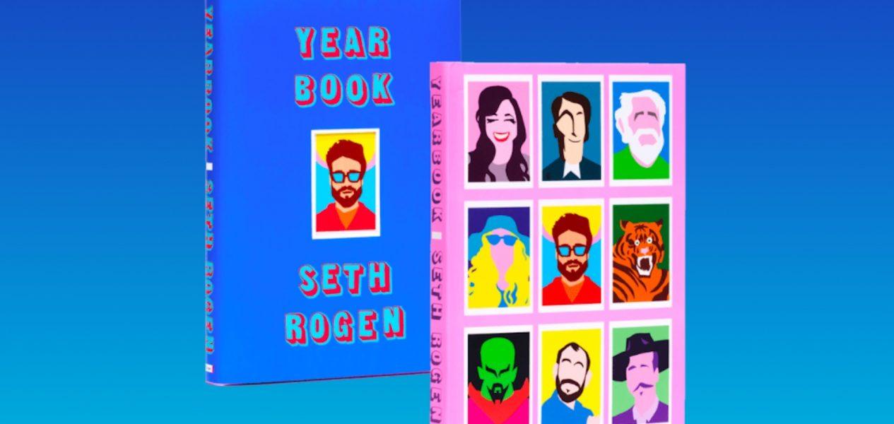 seth rogen yearbook