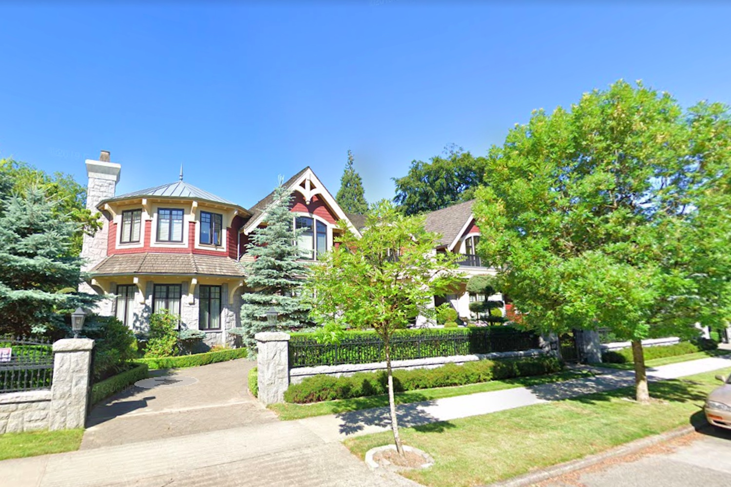 most expensive streets Vancouver