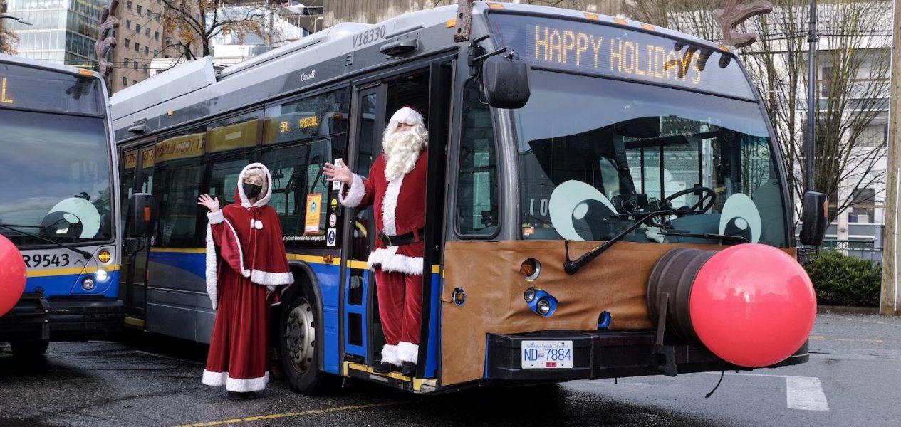translink reindeer buses