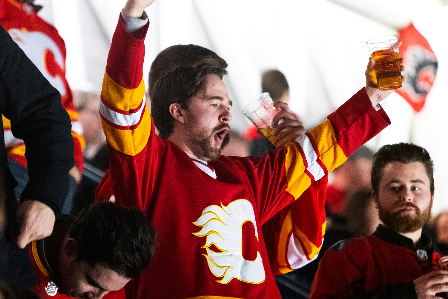 types of flames fans