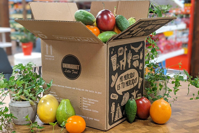 unimarket delivery box