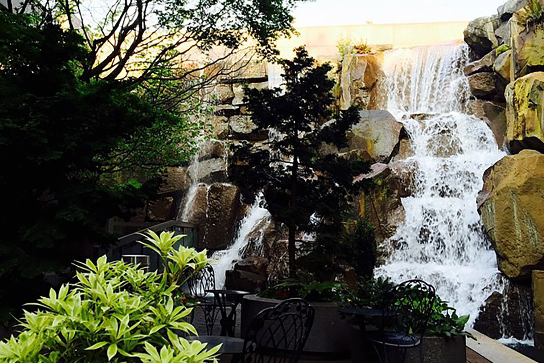 waterfall-park-garden-seattle-pioneer square