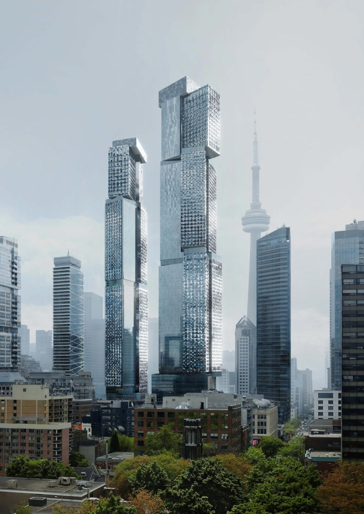 frank gehry towers toronto