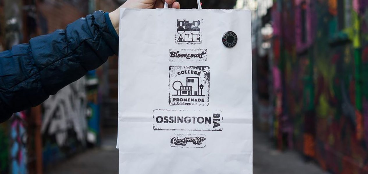 bag of toronto goodie bags