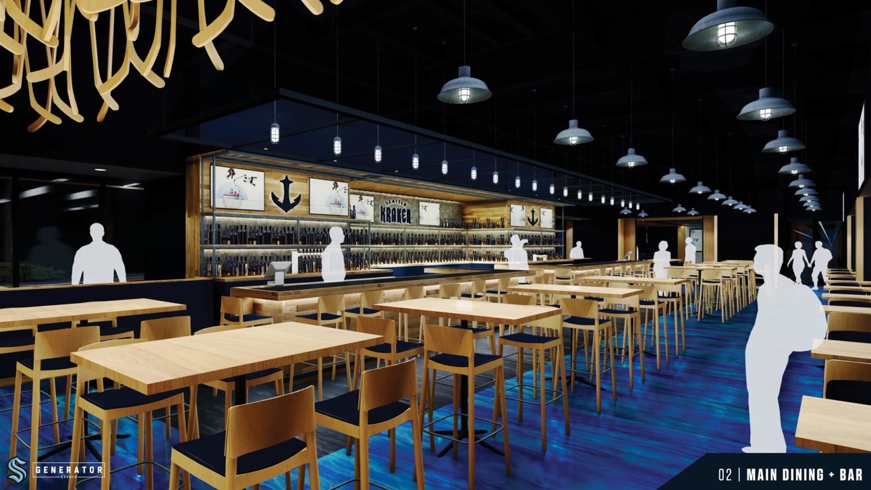 Seattle kraken sports bar