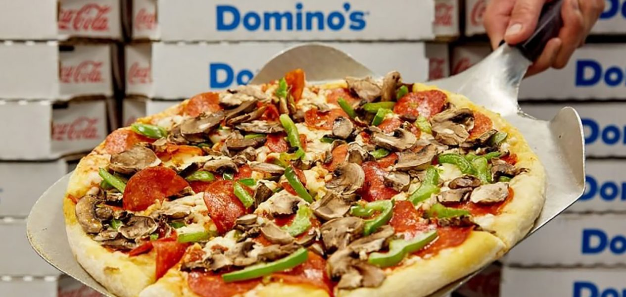 you can get 50% off domino's pizza across canada