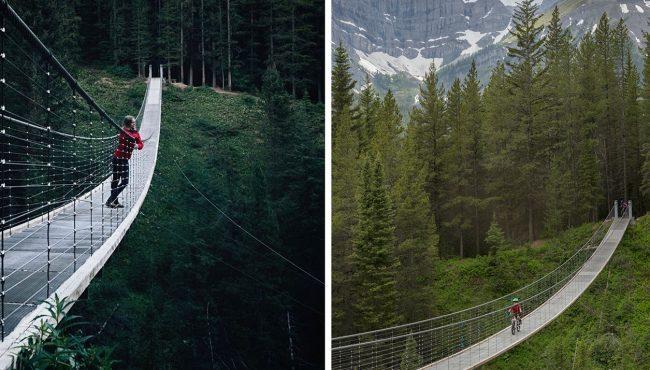 blackshale suspension bridge