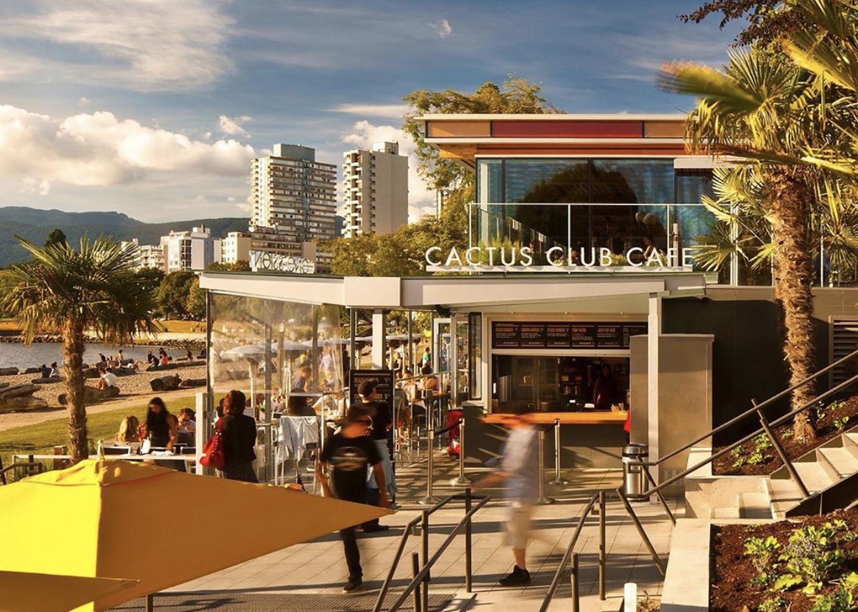cactus club waterfront patios vancouver