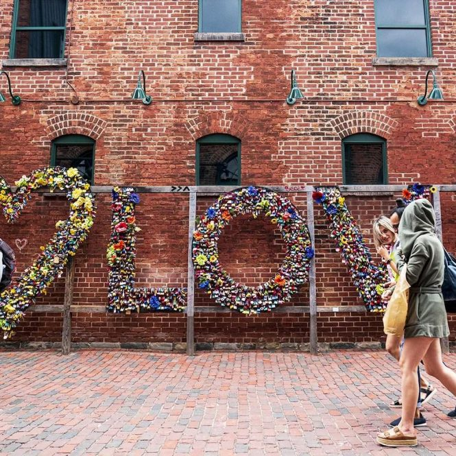 distillery district walking tours