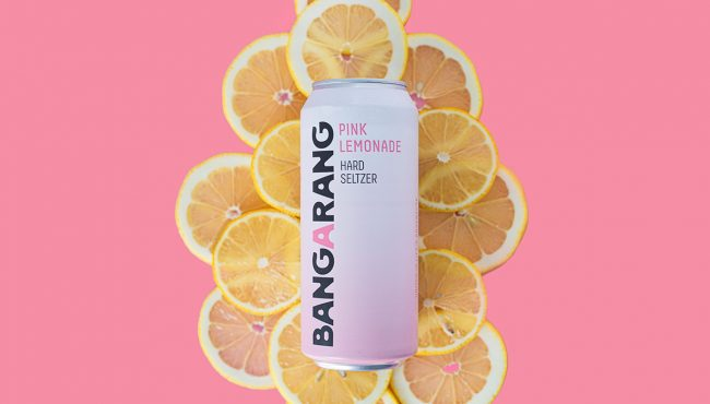 bangarang pink lemonade seltzer