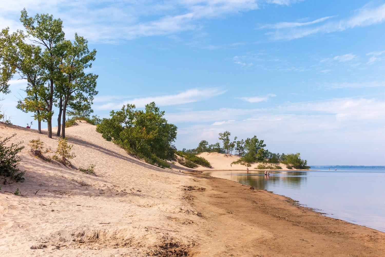 top beaches canada