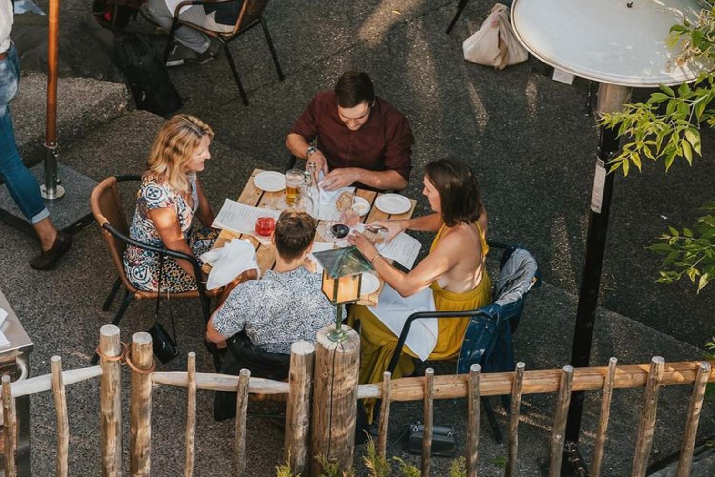 calgary patio brunches river cafe