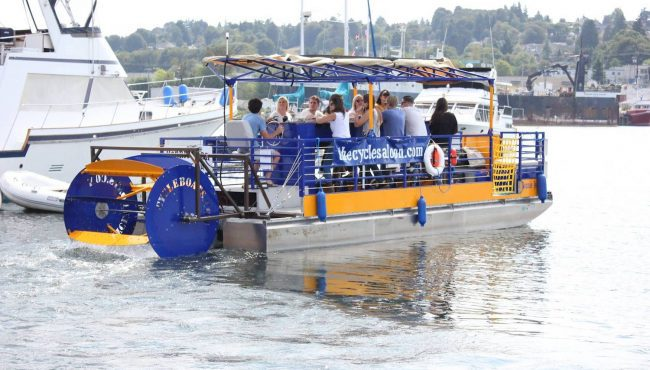 Cycle Saloon Seattle Party Boat Tours