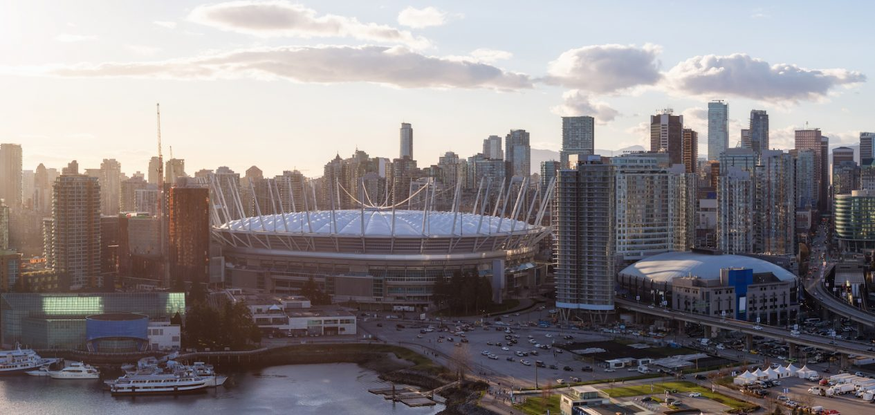 vancouver canucks bc place
