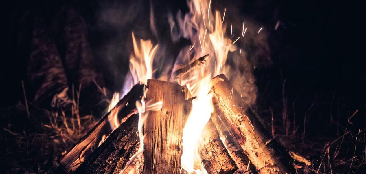 virtual haunted campfire
