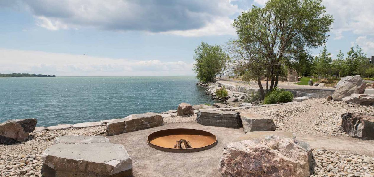 ontario place fire pits