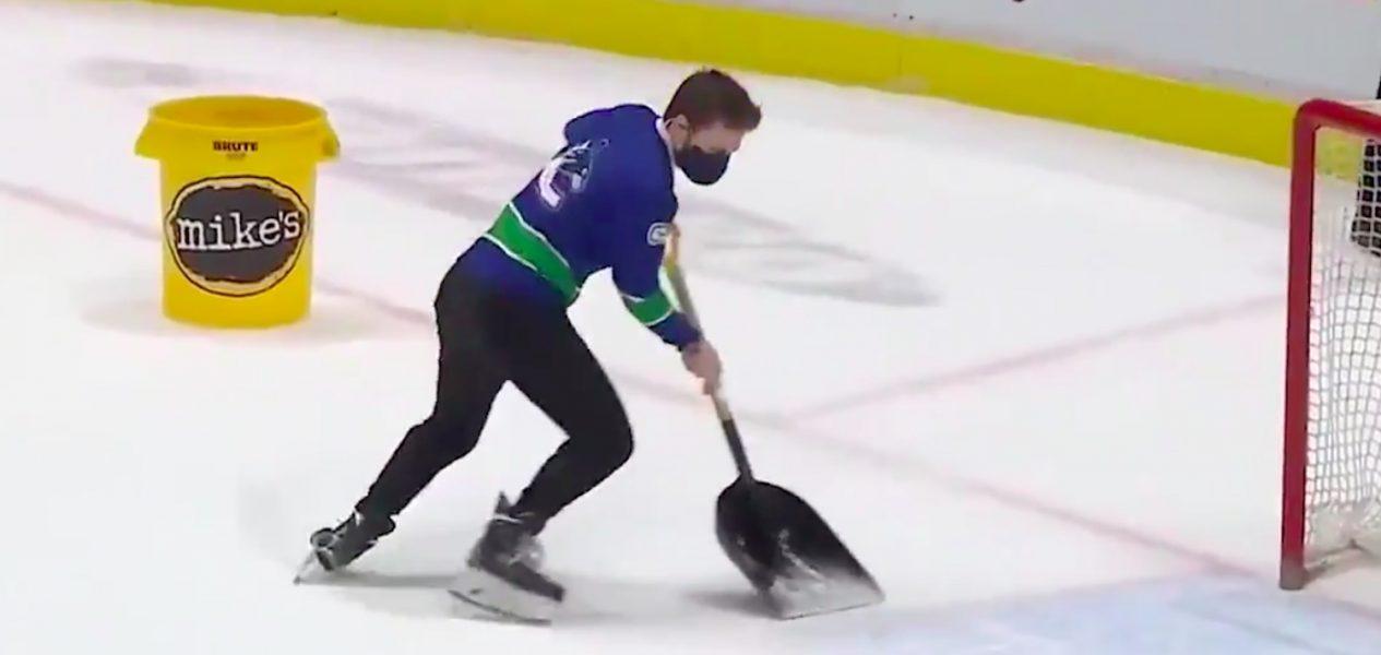 canucks ice cleaner