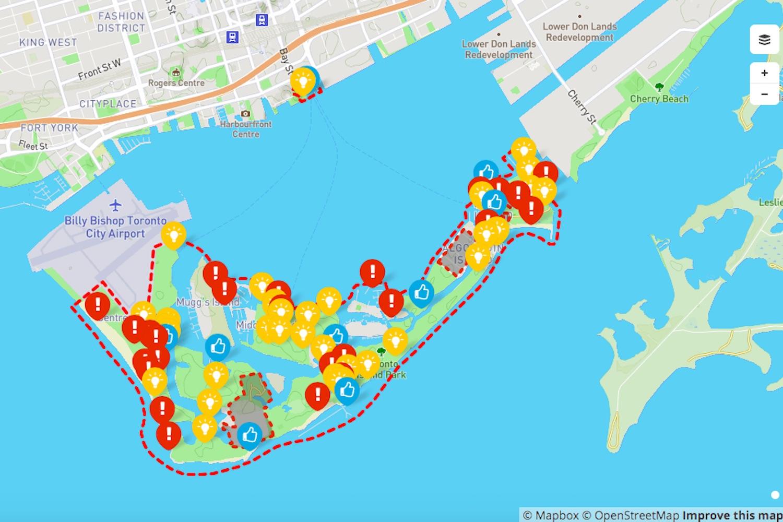 toronto island park master plan