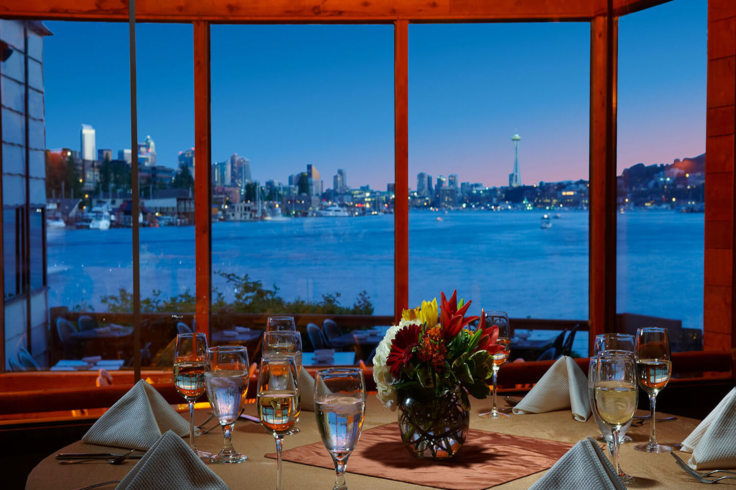 restaurants in Seattle with a view