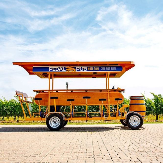 pedal pub niagara
