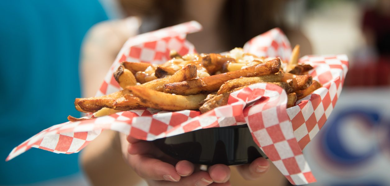 Poutine with purpose