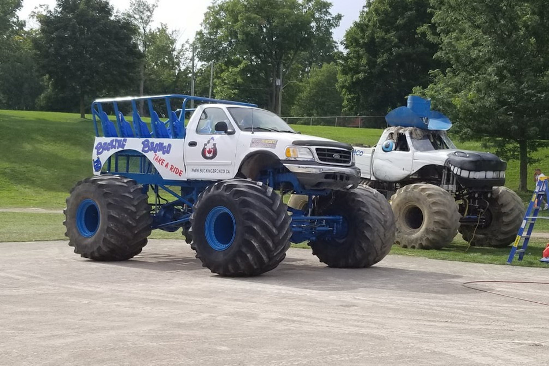 mega wheels drive thru