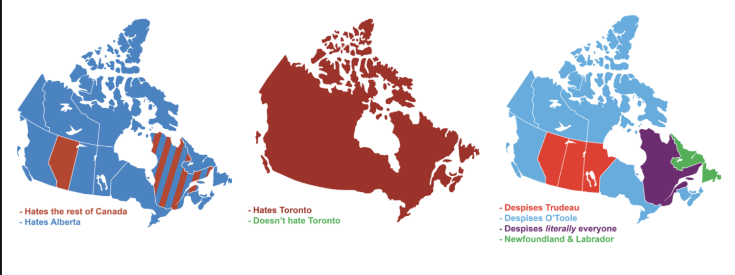 9 ways to divide canada