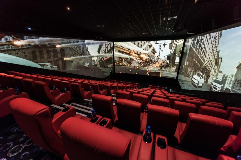 ScreenX theatre in Calgary