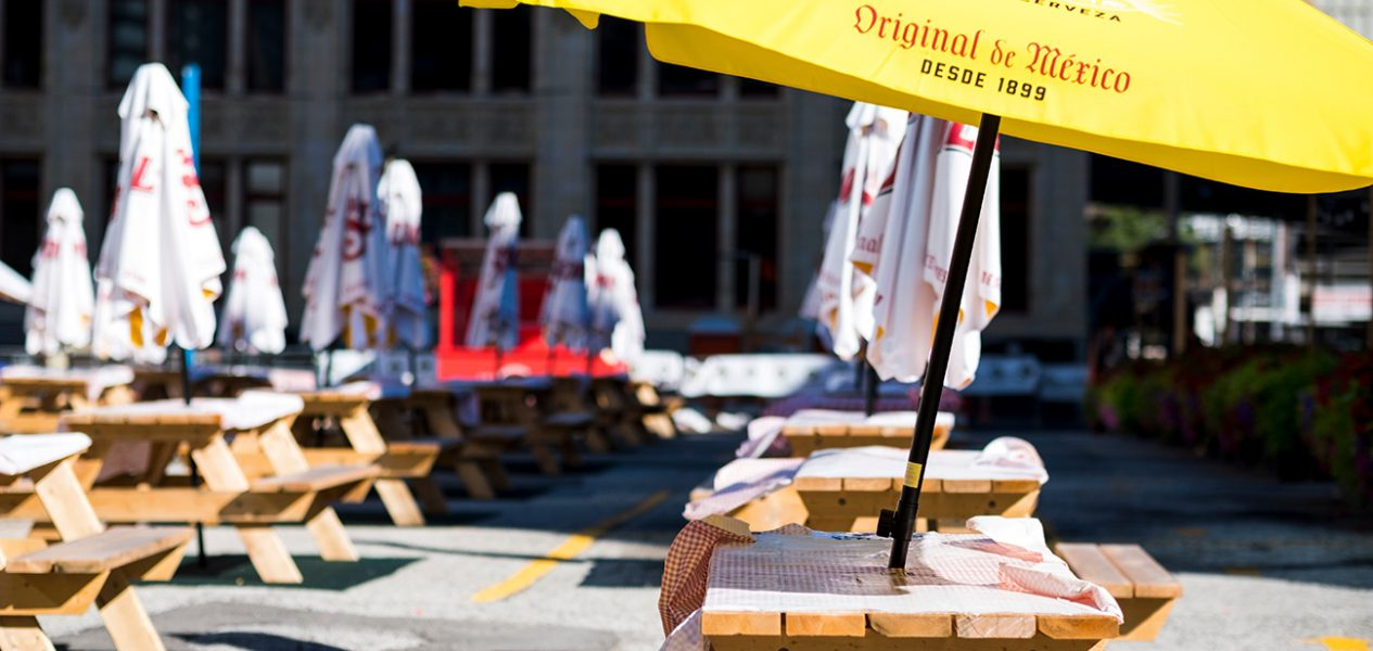 CaféTO curb lane installations officially begin next weekend!