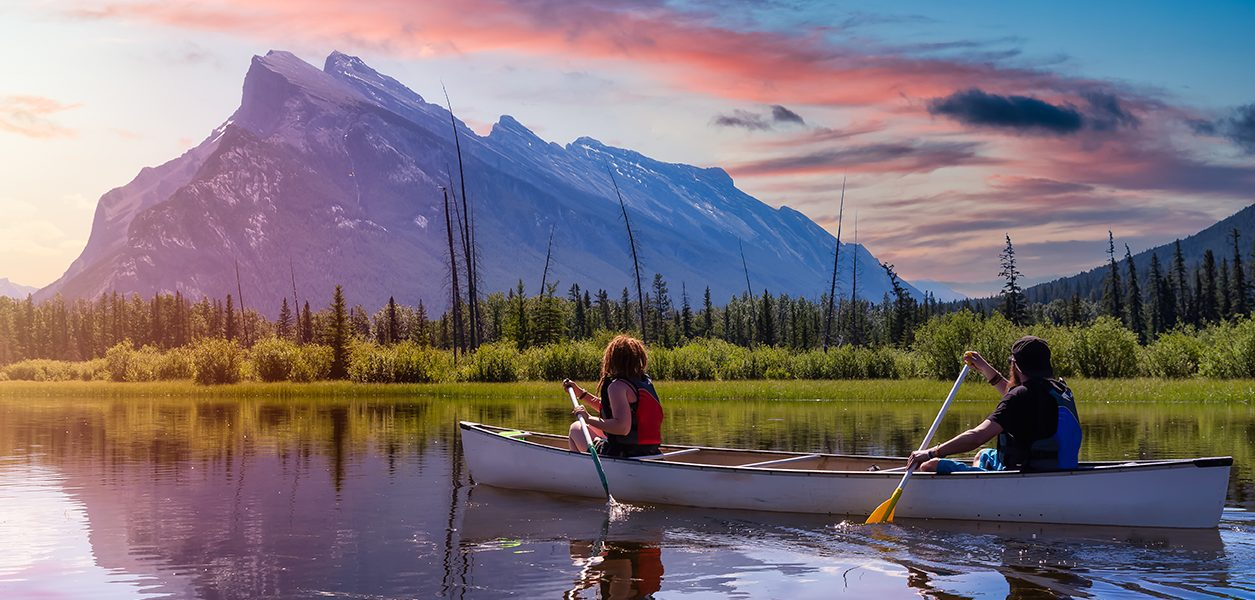 couples getaways alberta