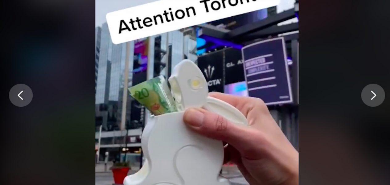 tiktok cash toronto