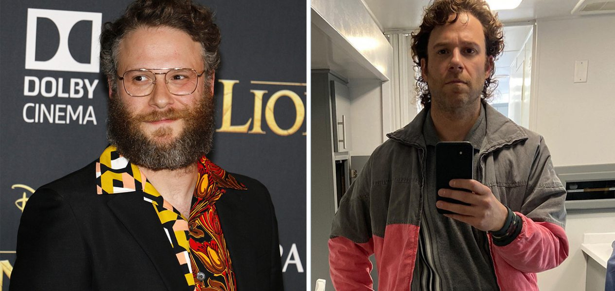seth rogen new look podcast