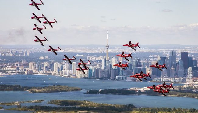 canadian snowbirds tour