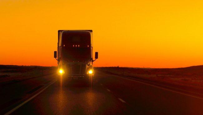 semi truck alberta