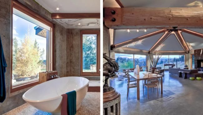 This stunning Airbnb is uniquely Albertan is the most glamourous way