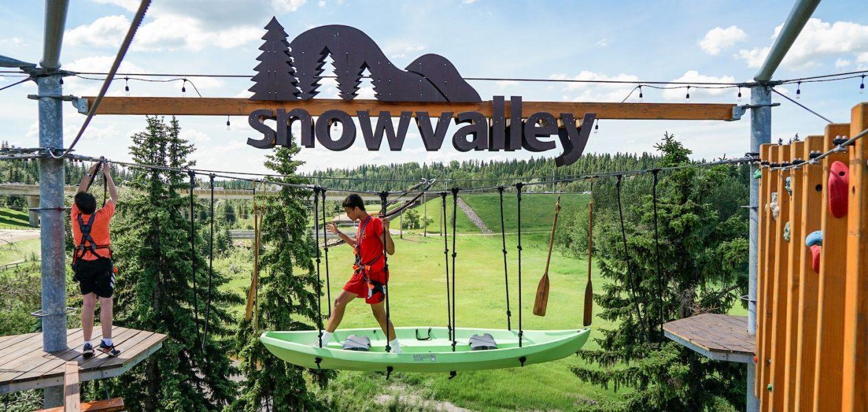 snow valley aerial park