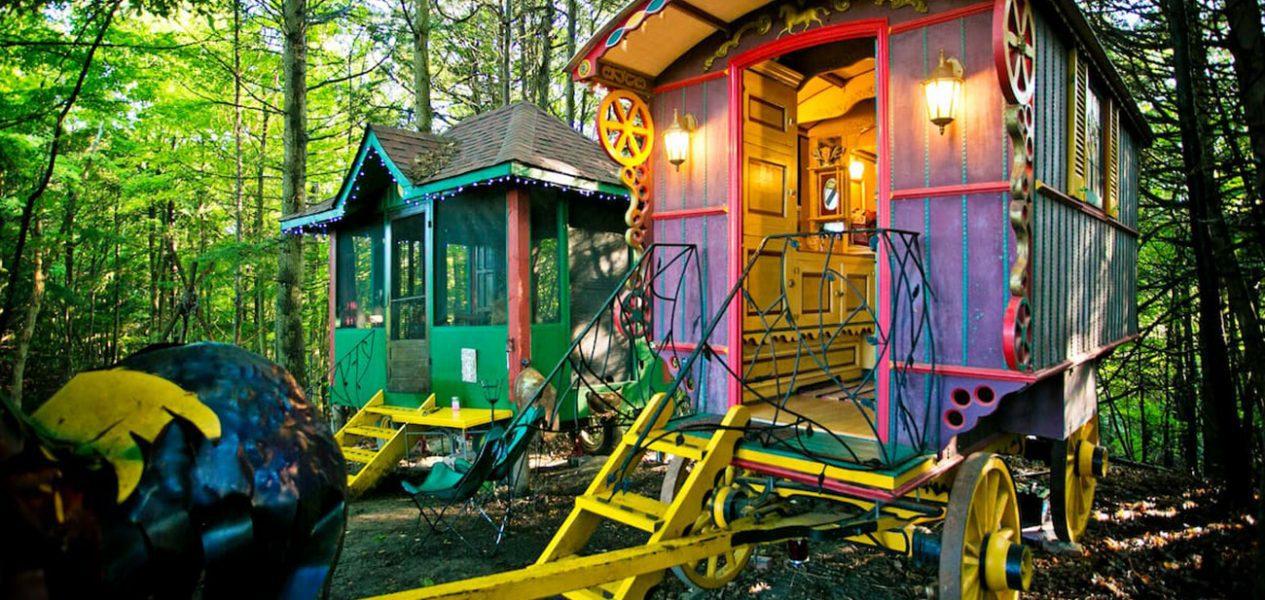 caravan stay ontario airbnb