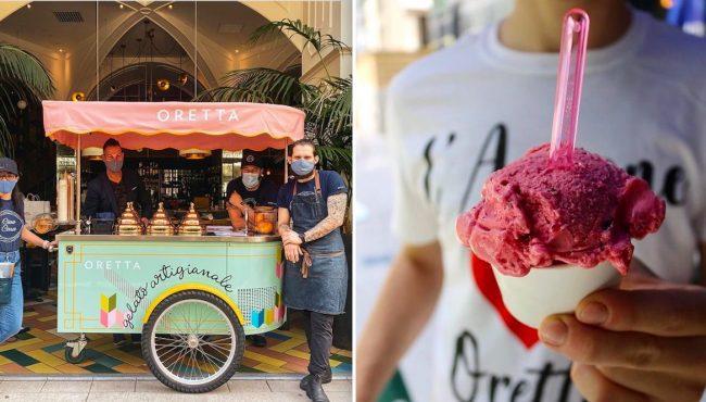 gelato cart