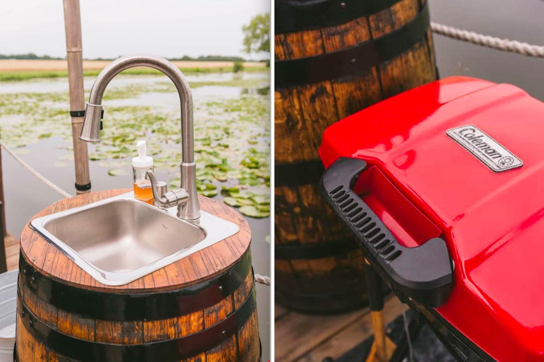 wine barrel airbnb