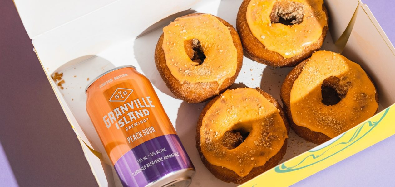 peach sour granville island brewing