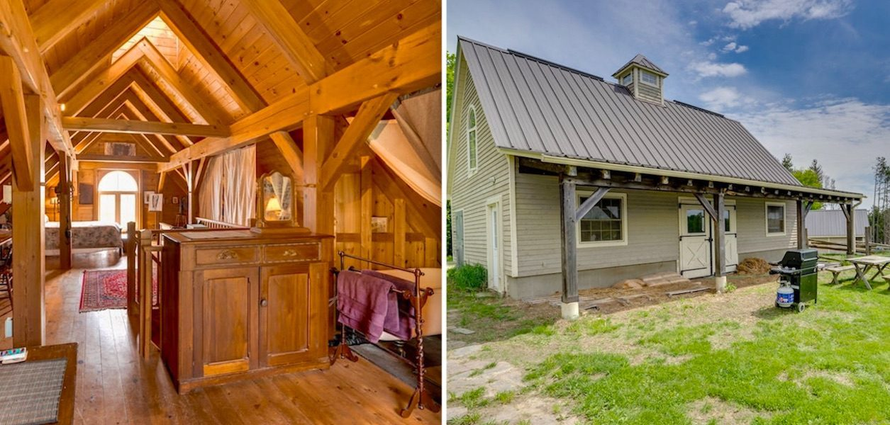 rustic loft working horse barn