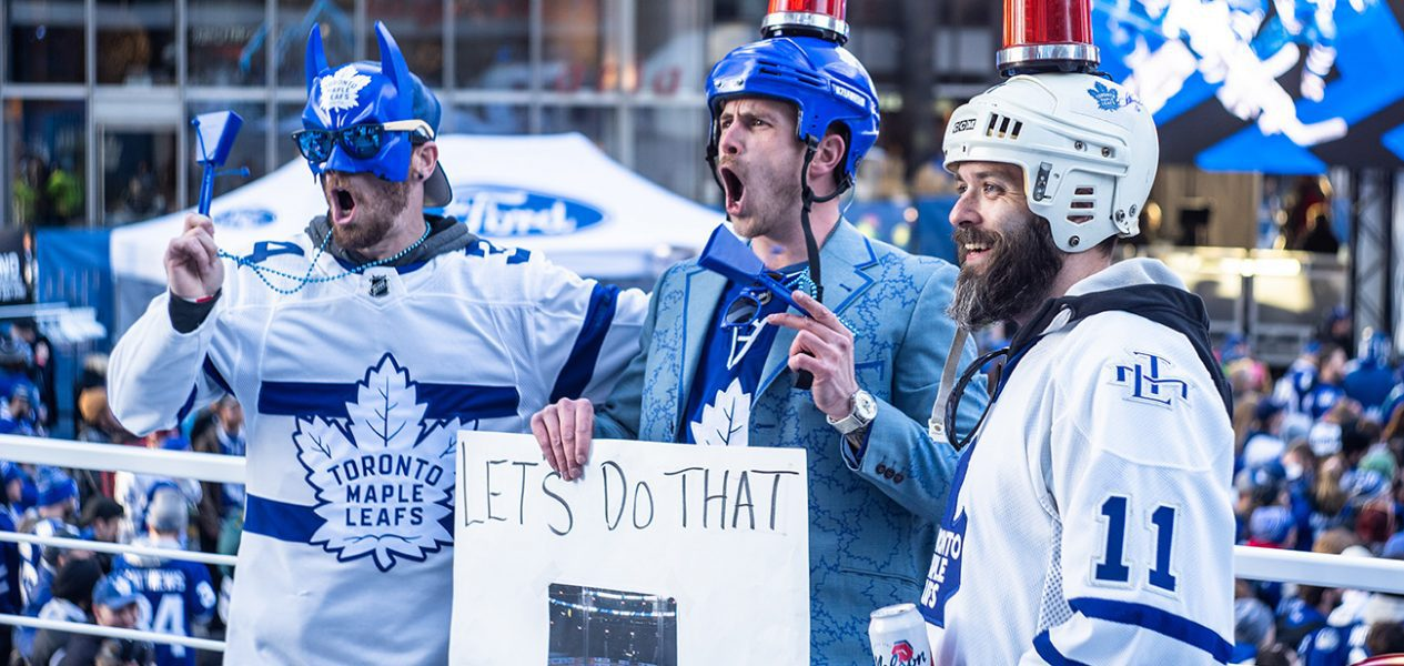 maple leafs fans game 7