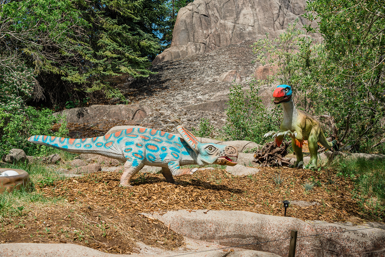 calgary zoo dinosaurs