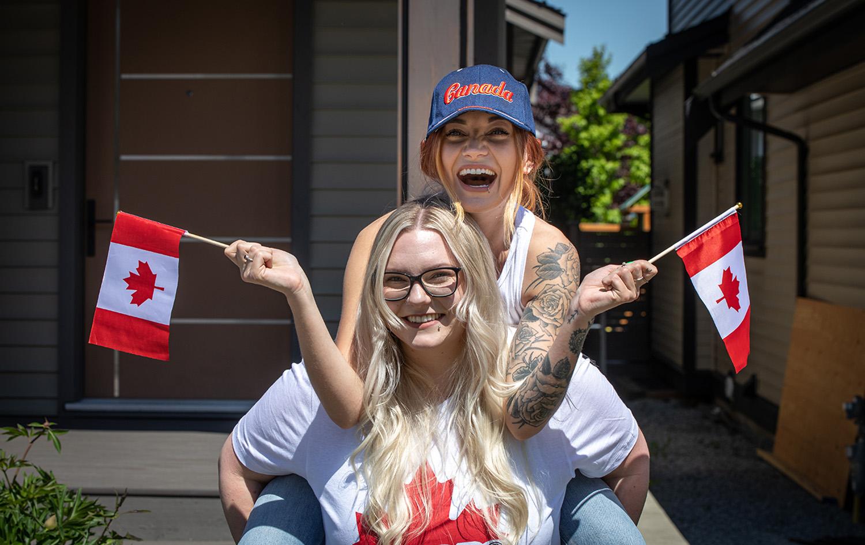 Via Virtual Surrey Canada Day