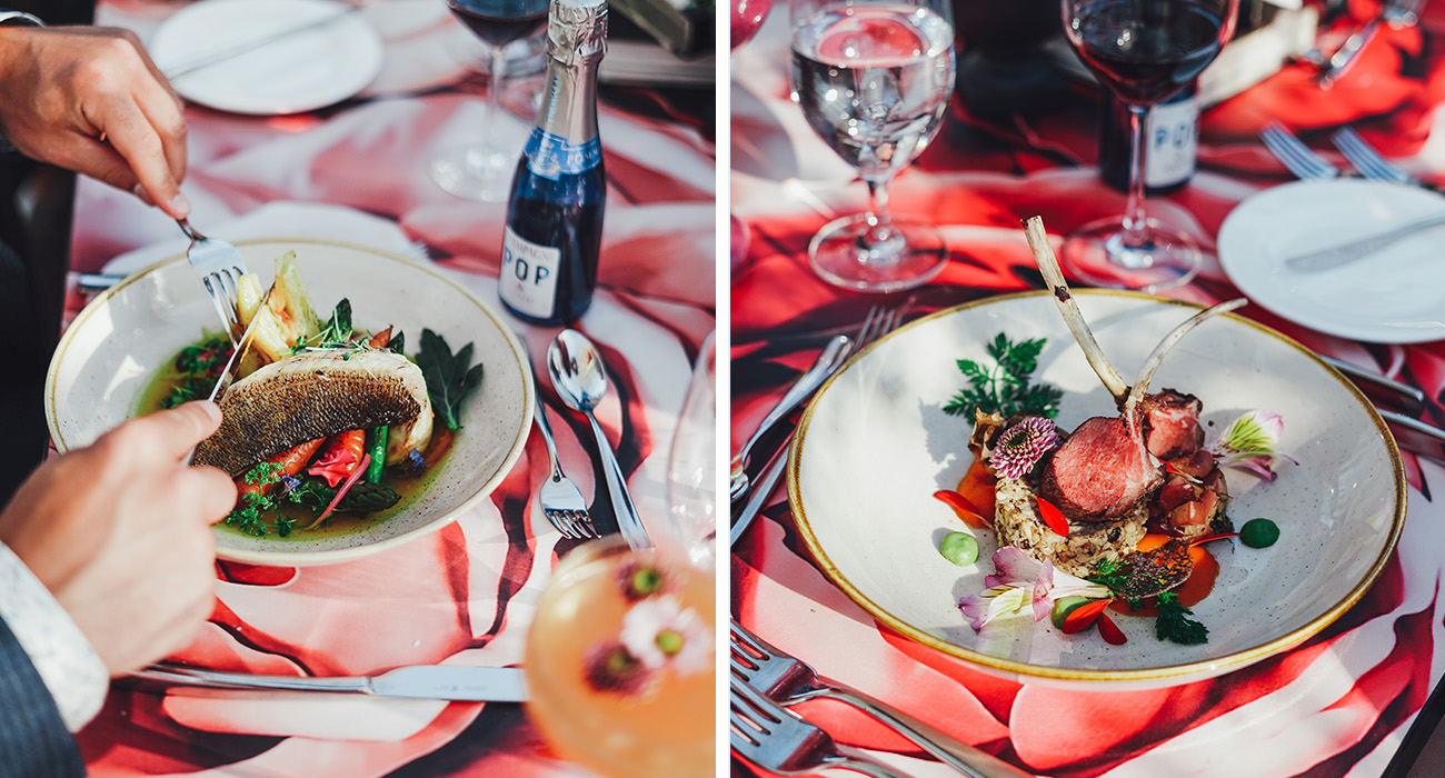 foodies in the park dome dining royal affair
