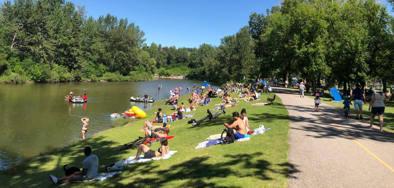 Here are the best places for a riverside hangout in Calgary