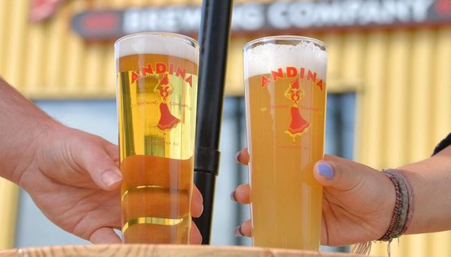 andina breweries patios vancouver