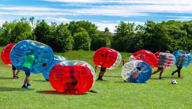 seattle bubble soccer